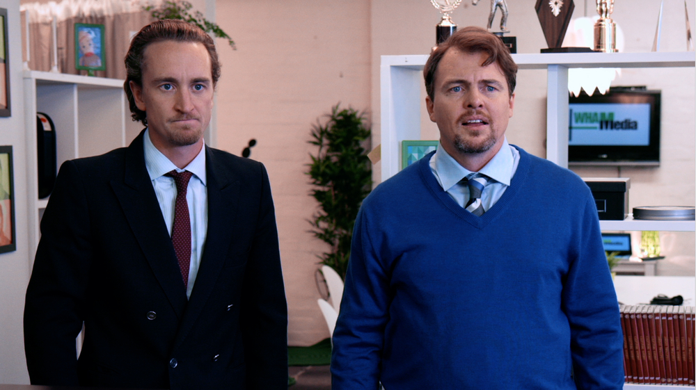 New Aussie comedy Warren and Hal image - supplied