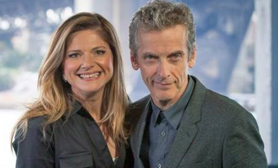 Julia Zemiro & Peter Capaldi image - supplied