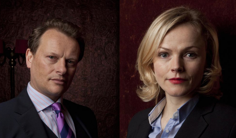 Maxine Peake and Rupert Penry-Jones star in Silk image - BBC