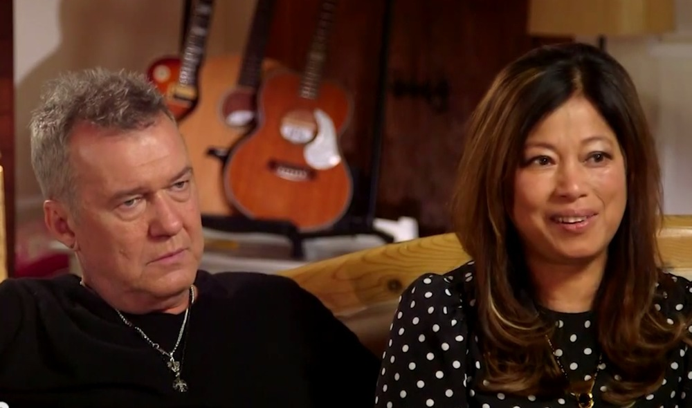 Jimmy and Jane Barnes.  image - Nine Network