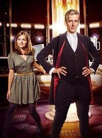 Jenna Coleman and Peter Capaldi.