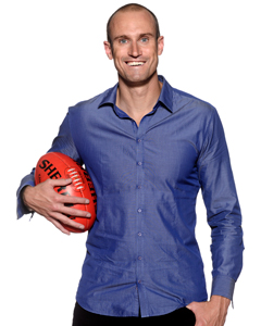 "Ryan ""Fitzy"" Fitzgerald - Former Big Brother housemate and host of The Recruit. image - Fox8"