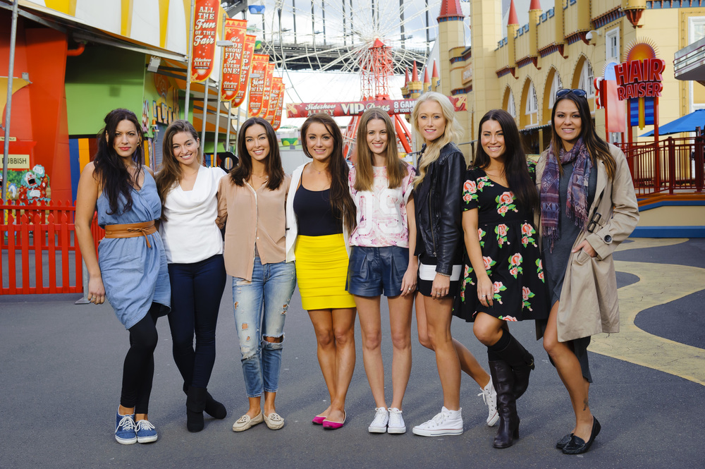 The Girls have a day out at Luna Park  image - supplied