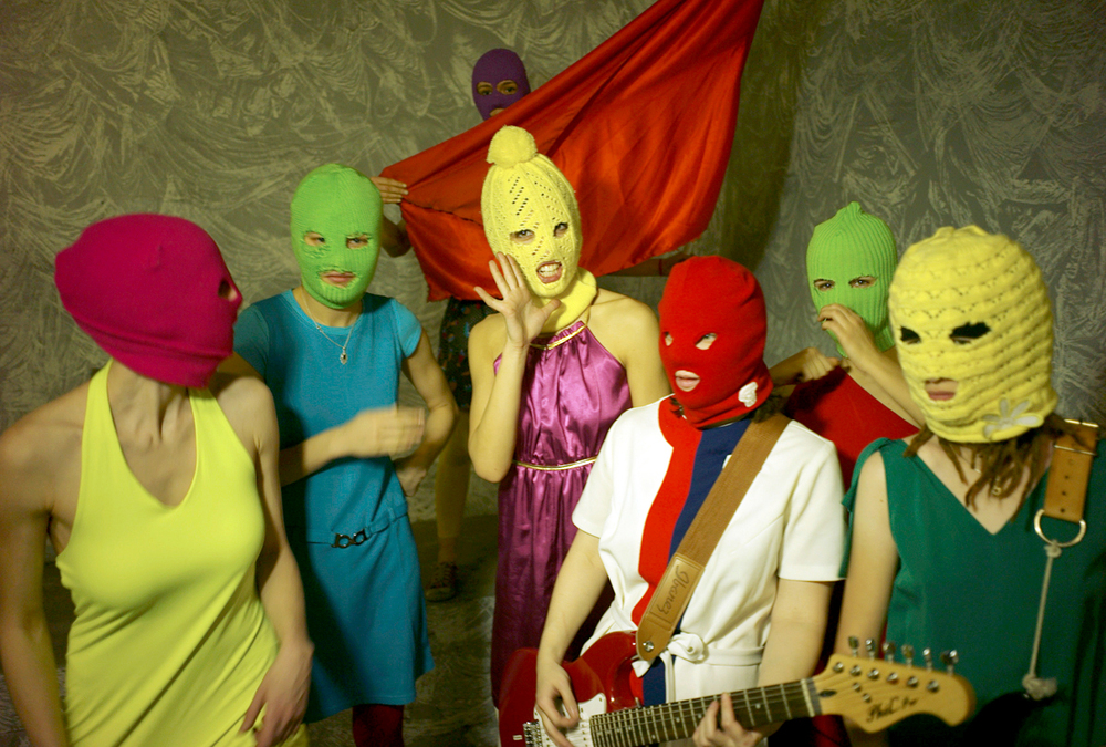 Pussy Riot  image -wikimedia.org