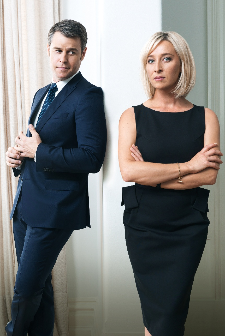 Rodger Corser and Asher Keddie star in Party Tricks  image - supplied/Ten