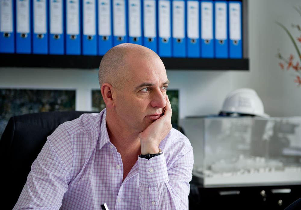 Tony (Rob Sitch) thinks back to how it all began.  image - supplied/ABC    Photographer - Hwa Goh