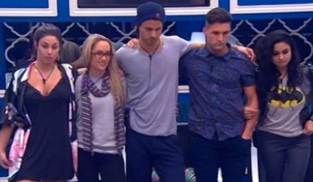 Big Brother reveals the five Housemates who are on the eviction chopping block. image copyright - Nine Network