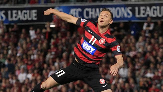 Western Sydney Wanderers will travel to Melbourne to take on the Victory in Round One image source - News Corp