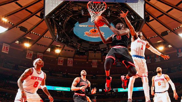 Chicago Bulls and New York Knicks commence a new NBA season on ESPN. image - ESPN