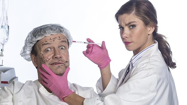 """Lawrence Mooney and Brooke Satchwell - """"No Plans"""" for a Dirty Laundry 2015 return image - ABC Publicity"""
