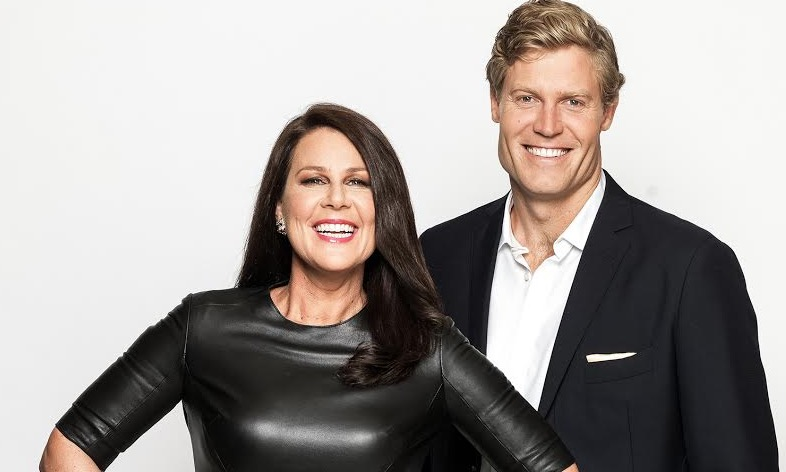 Julia Morris and Chris Brown will host Ten's big bet - I'm A Celebrity... Get Me Out Of Here! image - supplied/Ten