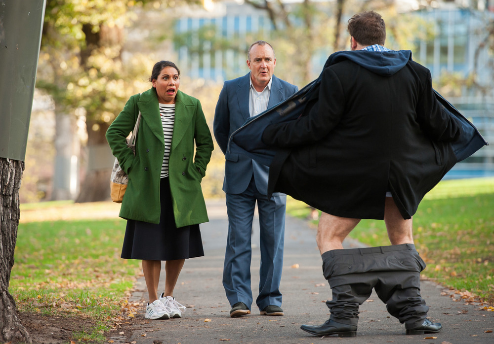 Deborah Mailman, Jimeoin and Lehmo star tonight in Its A Date  image - ABC Publicity