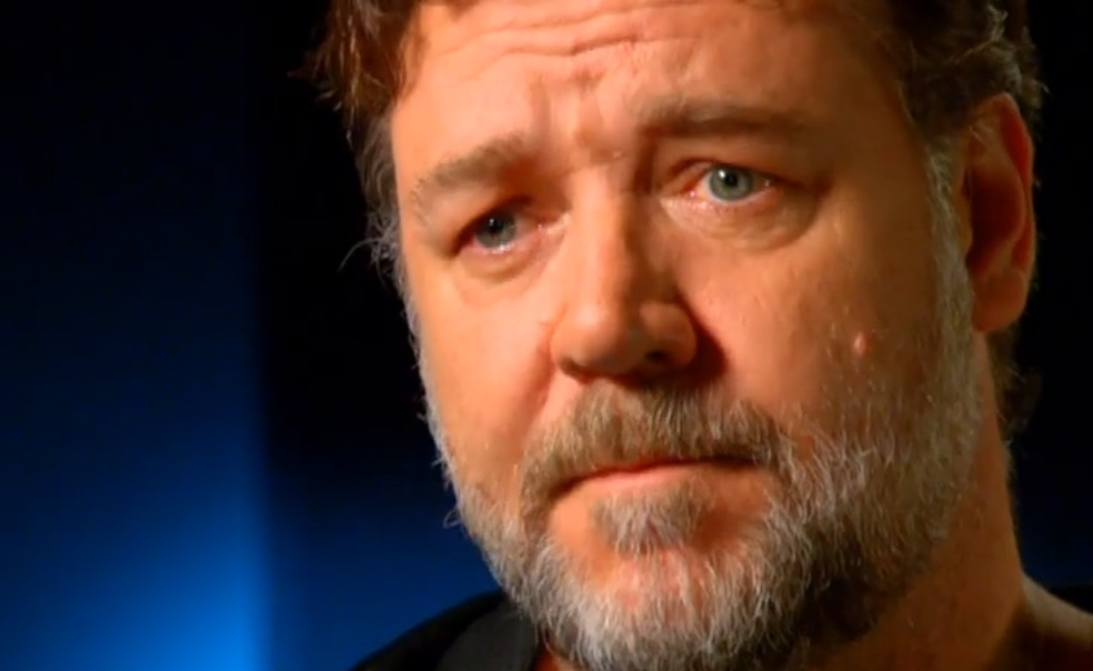 Russell Crowe  image source - Seven Network