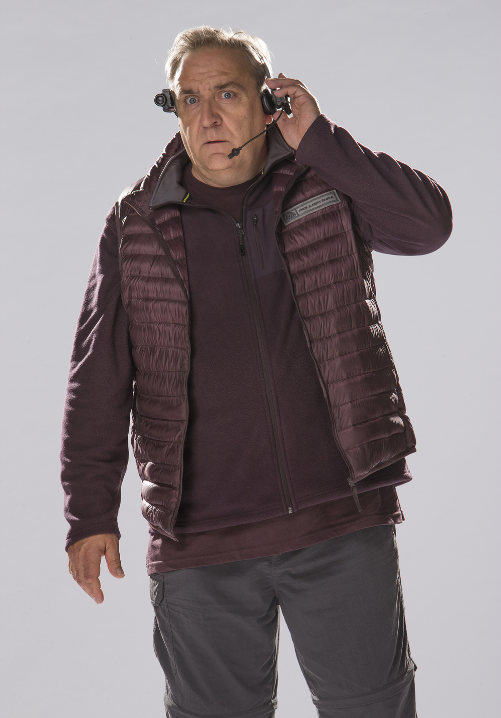 Michael Troughton as Professor Albert image - ABC Publicity
