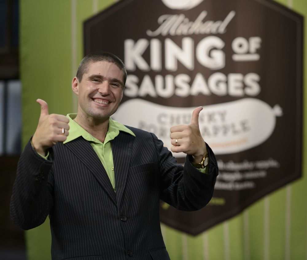 Michael Cainero theKing of Sausages image - supplied/Ten