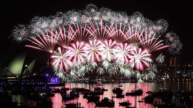 ABC TV will again capture the amazing images from tonight's Sydney Fireworks display.  Image Source - Fairfax Photo: Janie Barrett