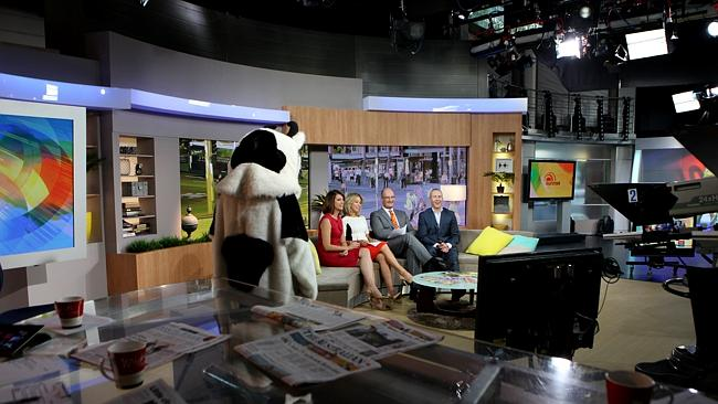 Presenters will now spend more time indoors on Seven's Sunrise. image source - News Corp