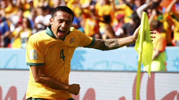 Can Tim Cahill do it again for Australia?. image copyright: Reuters