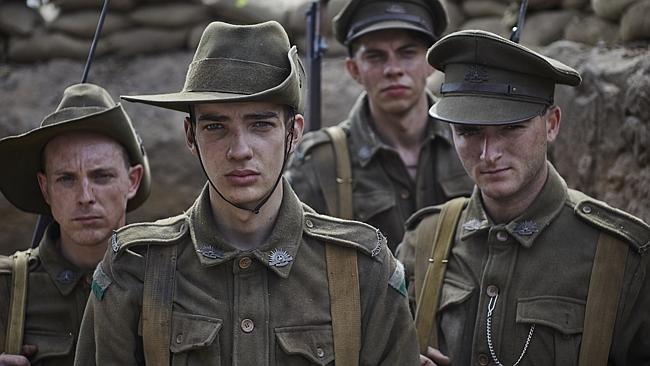 The seven-part series Gallipoli will be an important part of Nine's 2015 lineup. Picture - Ben King image - Nine Network