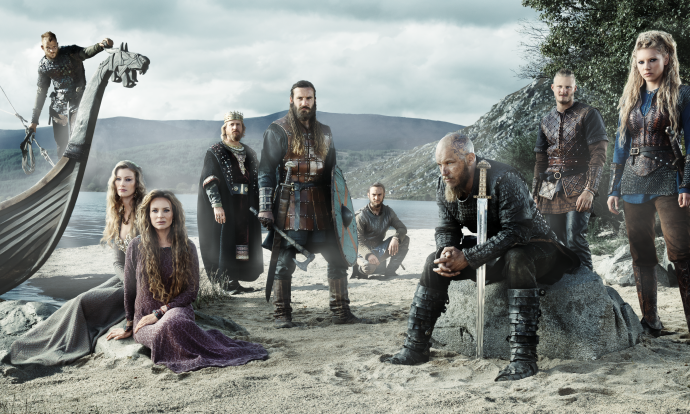 Ragnar leads his people to an uncertain fate on the shores of Wessex. image - supplied/SBS