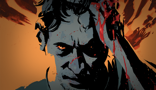 image from the Outcast comic.