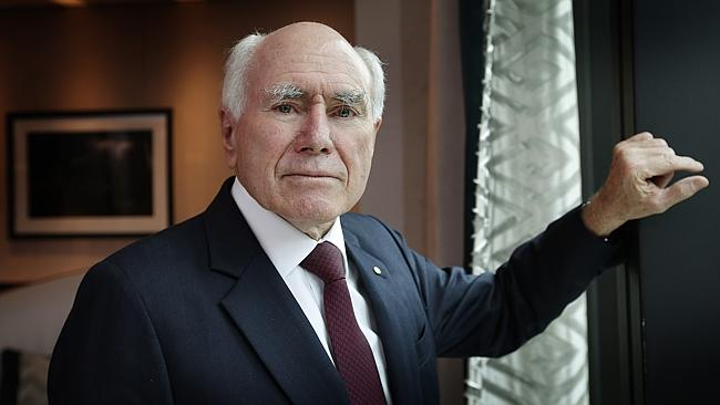 Former Prime Minister John Howard.  image source - News Corp Picture: David Caird