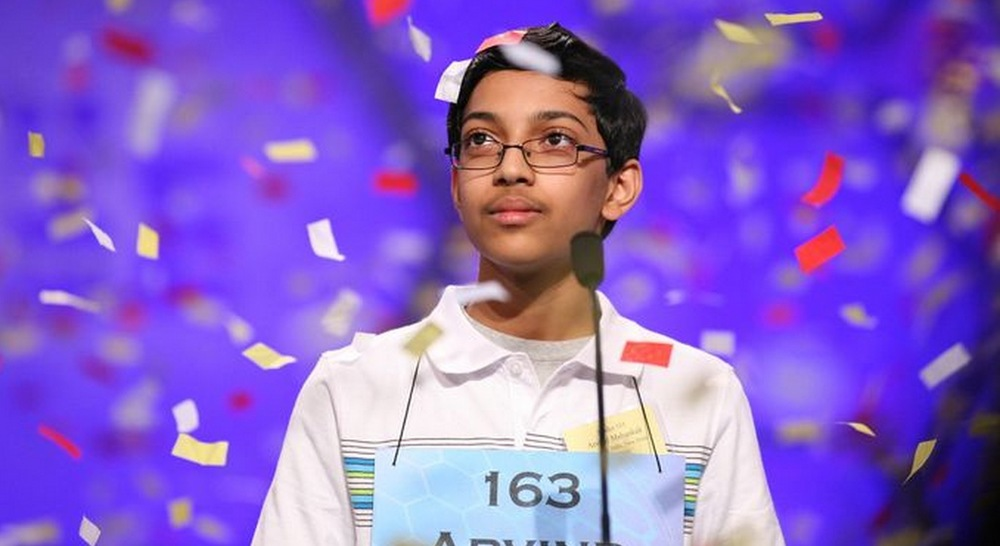 US Spelling Bee Champ -ArvindMahankali