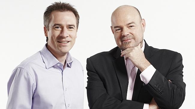 Gerard Whateley and Mark Robinson image - Fox Footy