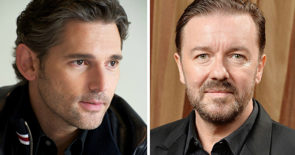 Eric Bana and Ricky Gervais image source - movieweb.com
