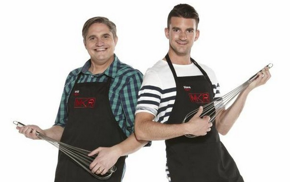 Pommie mates Will and Steve announced as first team into MKR Final. image copyright - Seven Network