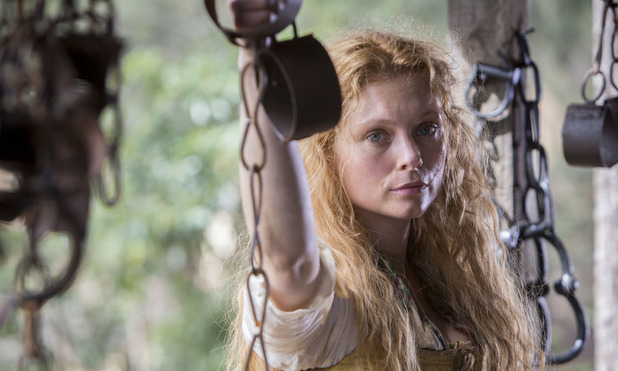 Myanna Buring in Banished image - BBC