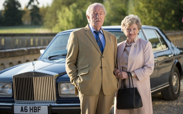 Michael Gambon and Julia McKenzie star in The Casual Vacancy. image - BBC