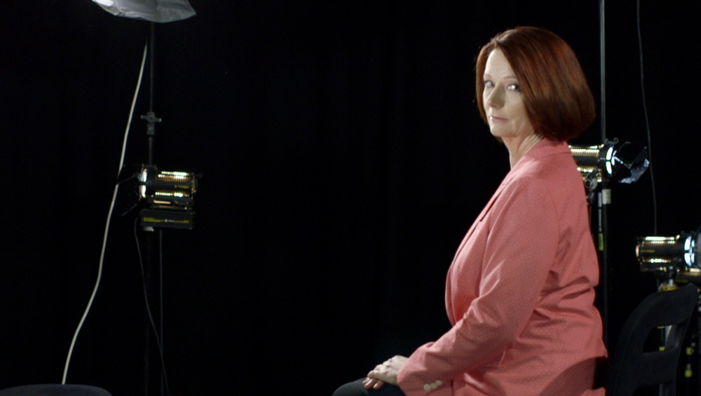 "image - supplied - ABC ""I always had this long shadow from the way in which I became Prime Minister and active steps were taken basically every day of my Prime Ministership to have that shadow become darker and darker and not lighter and lighter."" – Julia Gillard"