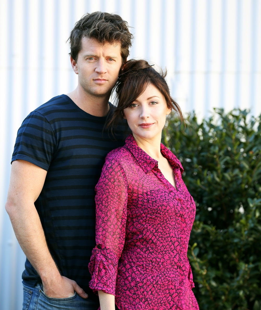 Ryan O'Kane and Emma Hamilton  image - supplied/Ten