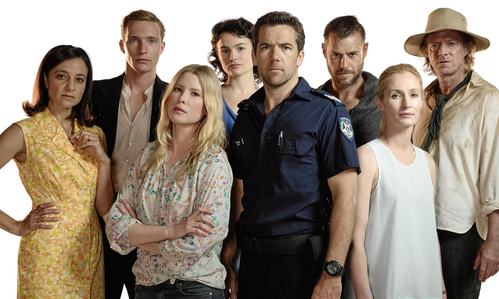 The cast of Glitch image - supplied/Nine Network