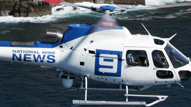 Nine News Brisbane Helicopter image source - News Corp