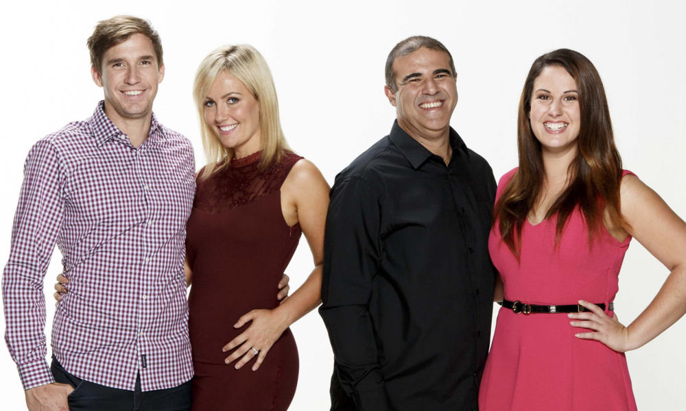 Queenslands Ben & Danielle vs NSW's Steve & Tiana in the House Rules Grand Final  image - Supplied/Seven Network