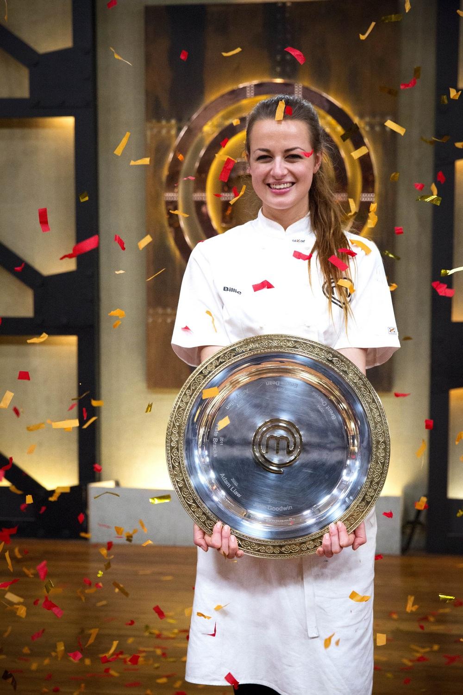 Billie McKay - Winner Masterchef Australia 2015 image - supplied/Ten