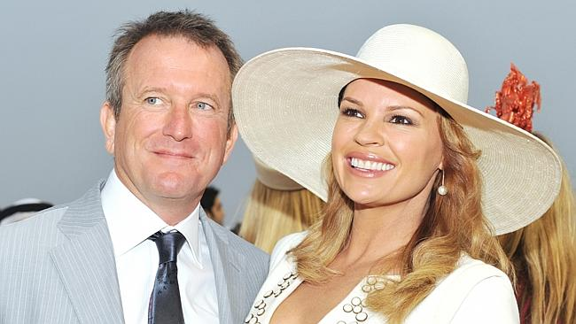 Newly appointed Director of News and Public Affairs at Seven Craig McPherson with wife Sonia Kruger  image source - News Corp