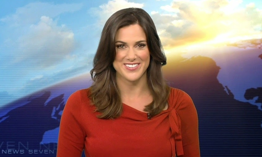 Sophie Hull - Seven's Afternoon News presenter in Sydney  image - Seven Network