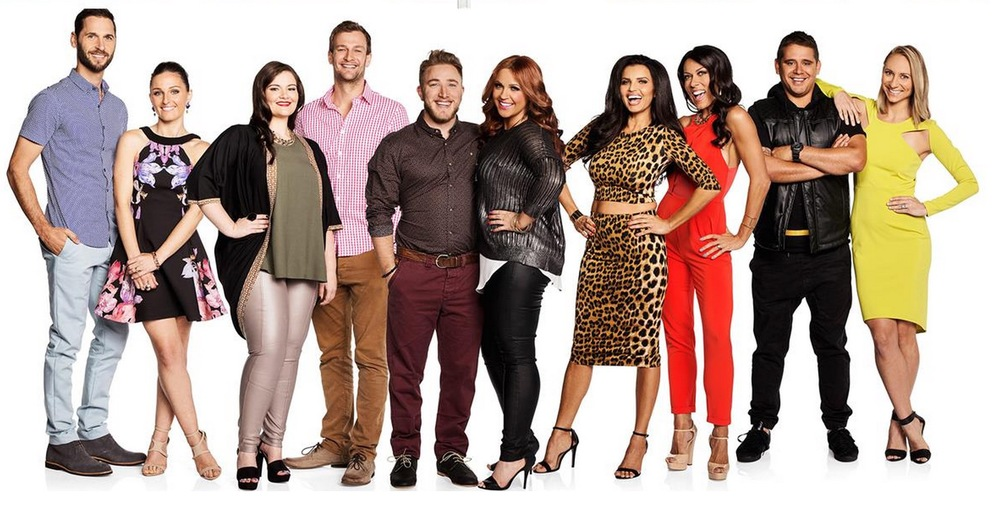 The new lineup for the 11th season of The Block on Nine image copyright - Nine Network