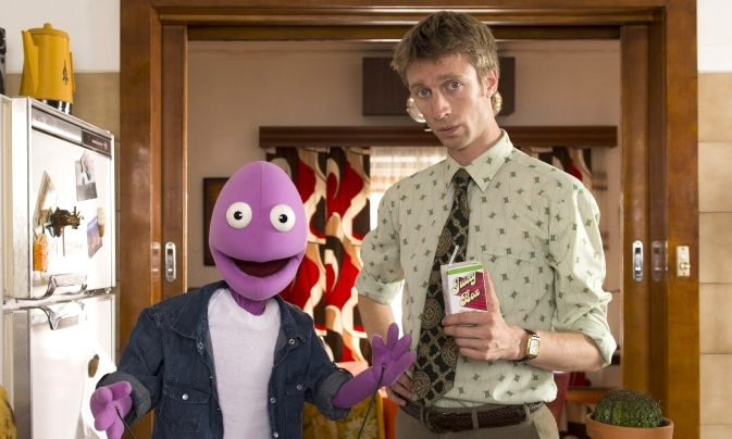 Sammy J (right) with Randy star in the new series Sammy J and Randy in Ricketts Lane on ABC iview image - supplied/ABCTV