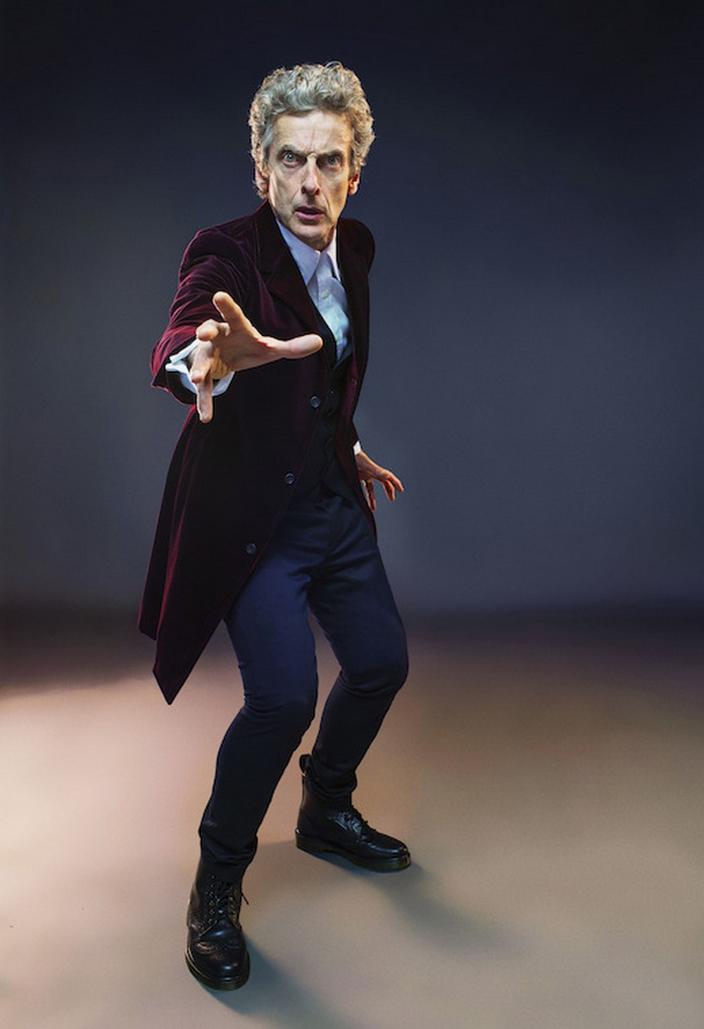 Peter Capaldi returns as Doctor Who image supplied/ABCTV