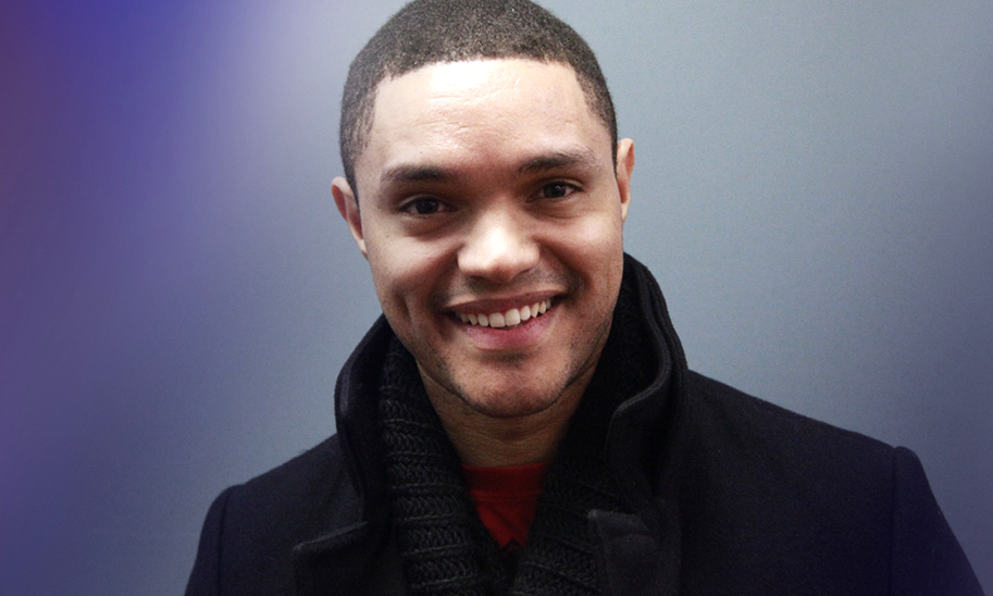 The Daily Show with Trevor Noah begins next week on The Comedy Channel. image source - Comedy Central