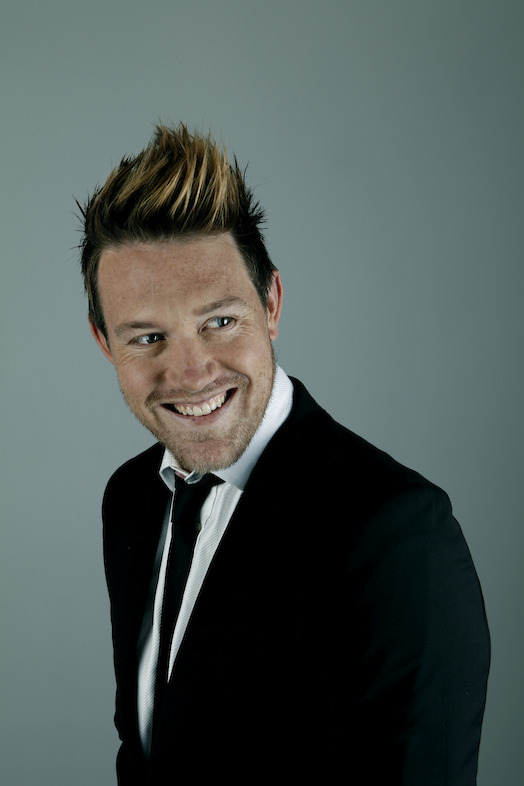 Eddie Perfect will be master of ceremonies for the Saturday Night Crack Up. image - supplied/ABCTV