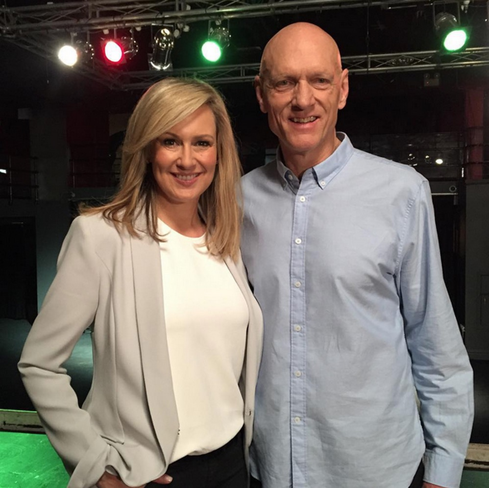 Melissa Doyle and Peter Garrett image source - Seven Network