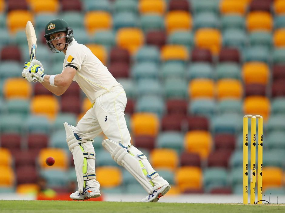 Steve Smith will captain Australia for the First Test at the Gabba.