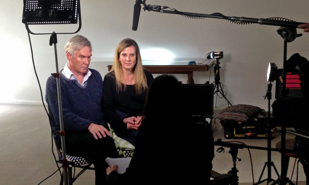 Michael Lawler and Kathy Jackson  image - supplied/ABC