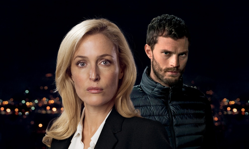Gillian Anderson and Jamie Dornan
