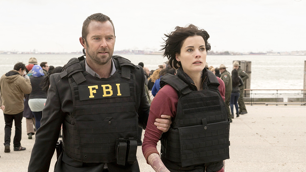Sullivan Stapleton & Jaimie Alexander  Image - supplied/NBC